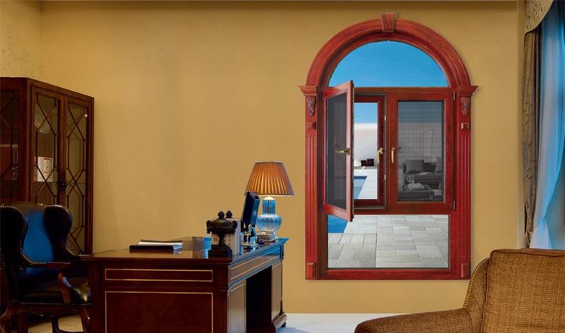 139 Shangri-La Aluminum Clad Wood Thermal-break Casement Door Series