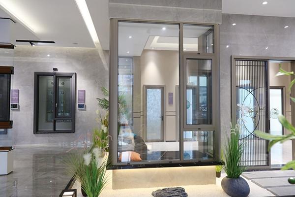 112series wide view thermal break casement window
