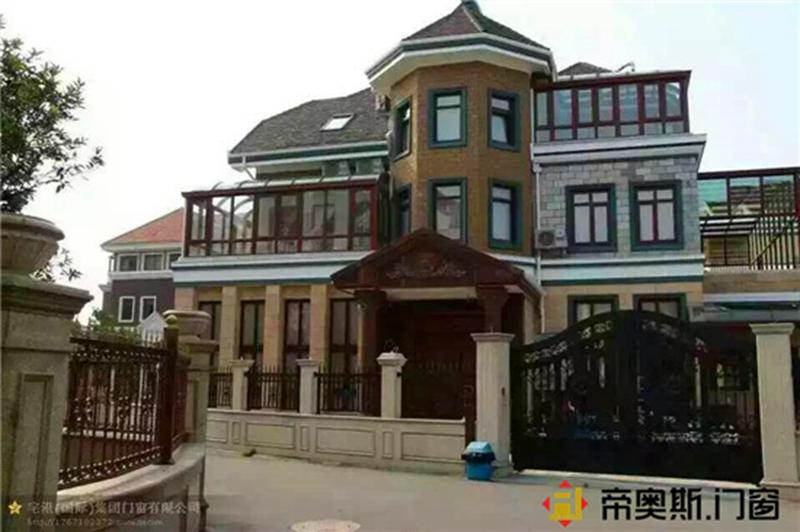 Jinge Door and Window Project in Jinchang City, Gansu Province